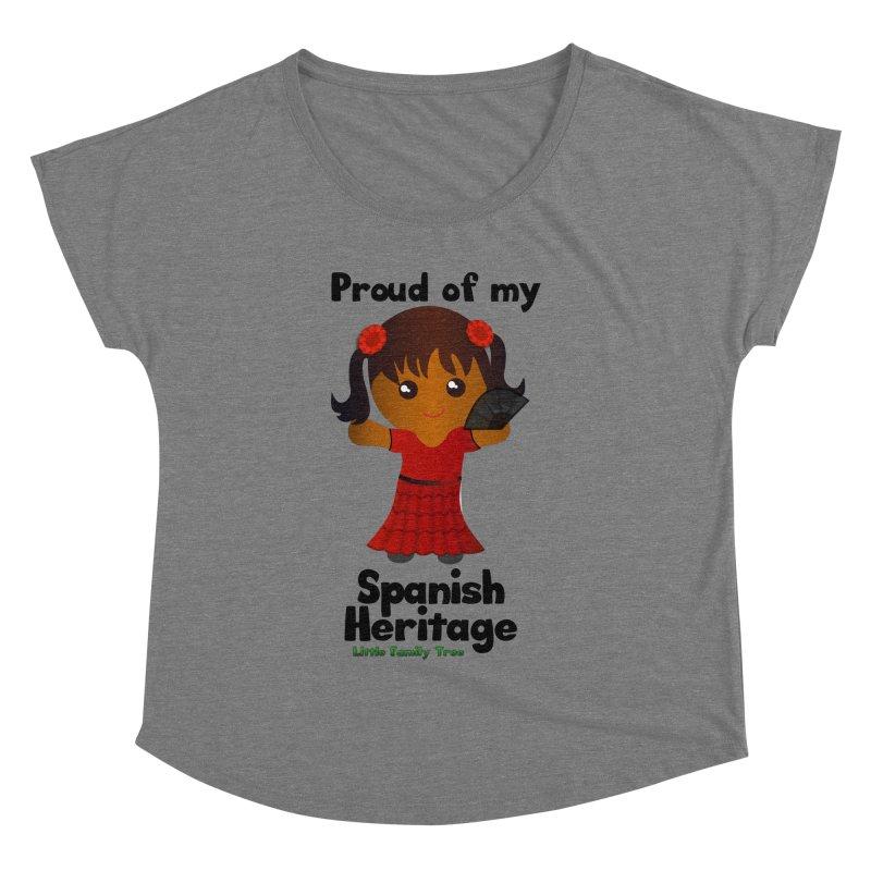 Spanish Heritage Girl Women's Dolman by Yellow Fork Tech's Shop