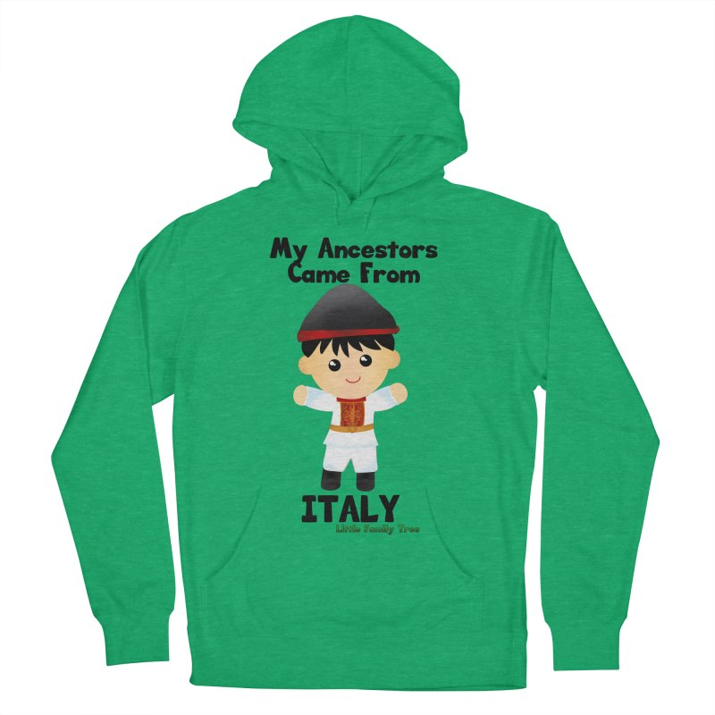 Italy Ancestors Boy Men's Pullover Hoody by Yellow Fork Tech's Shop