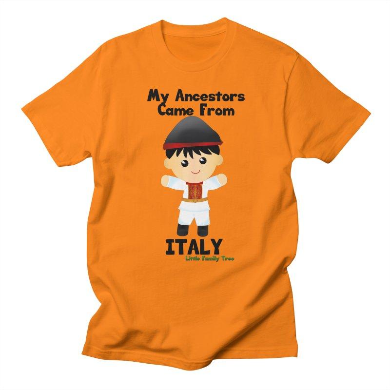 Italy Ancestors Boy Men's T-shirt by Yellow Fork Tech's Shop