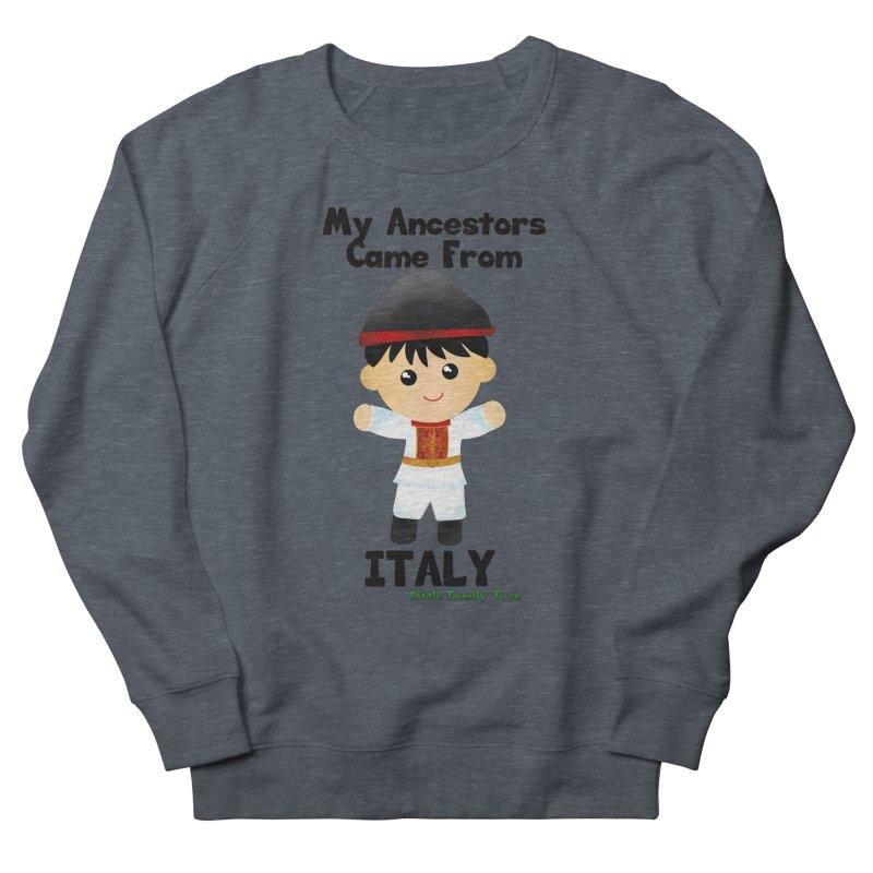 Italy Ancestors Boy Men's Sweatshirt by Yellow Fork Tech's Shop