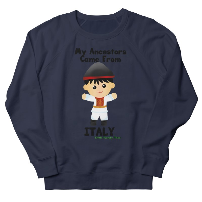 Italy Ancestors Boy Men's Sweatshirt by Yellow Fork Tech's Shop