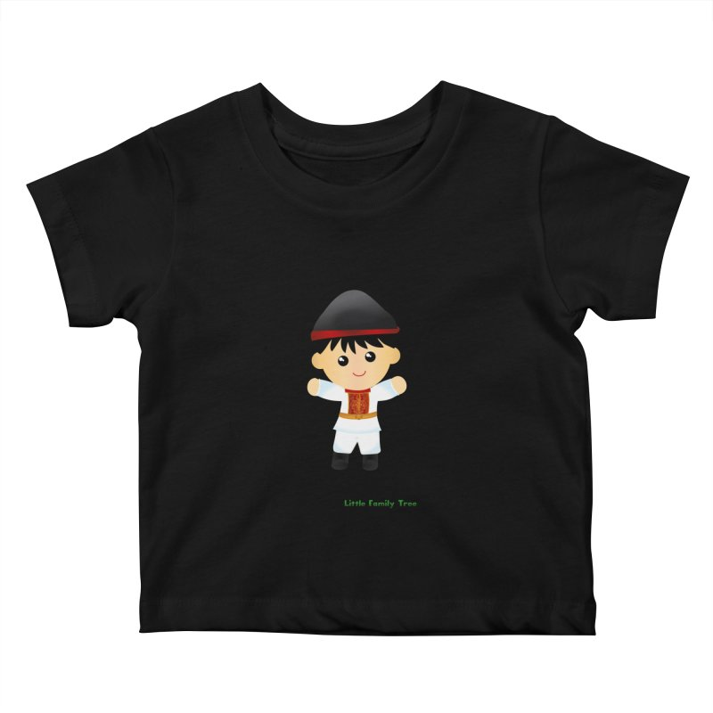 Italy Ancestors Boy Kids Baby T-Shirt by Yellow Fork Tech's Shop