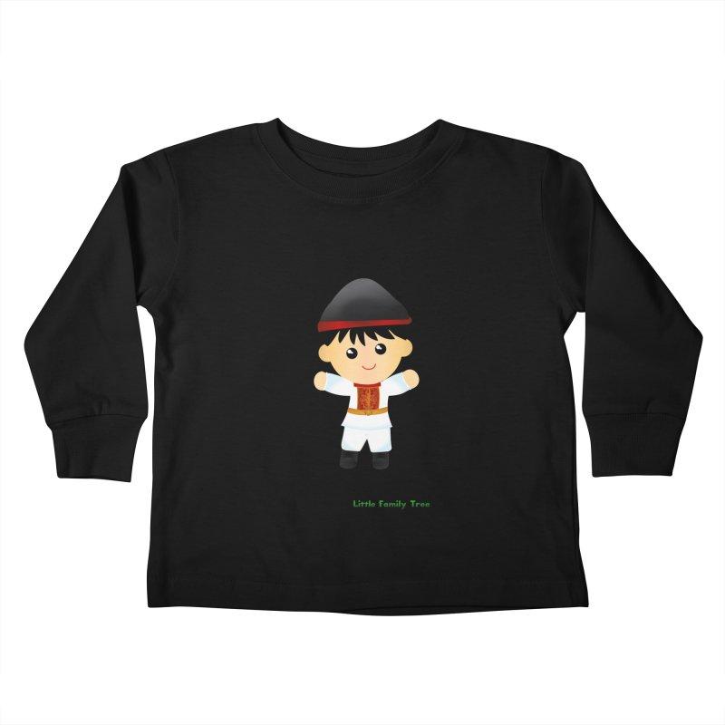Italy Ancestors Boy Kids Toddler Longsleeve T-Shirt by Yellow Fork Tech's Shop