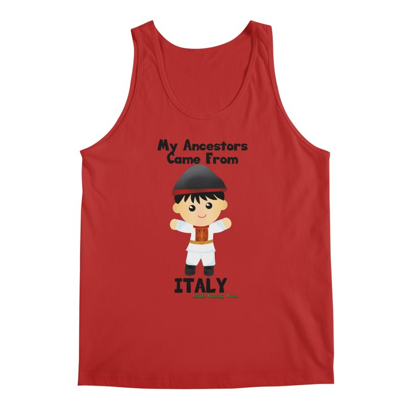Italy Ancestors Boy Men's Tank by Yellow Fork Tech's Shop