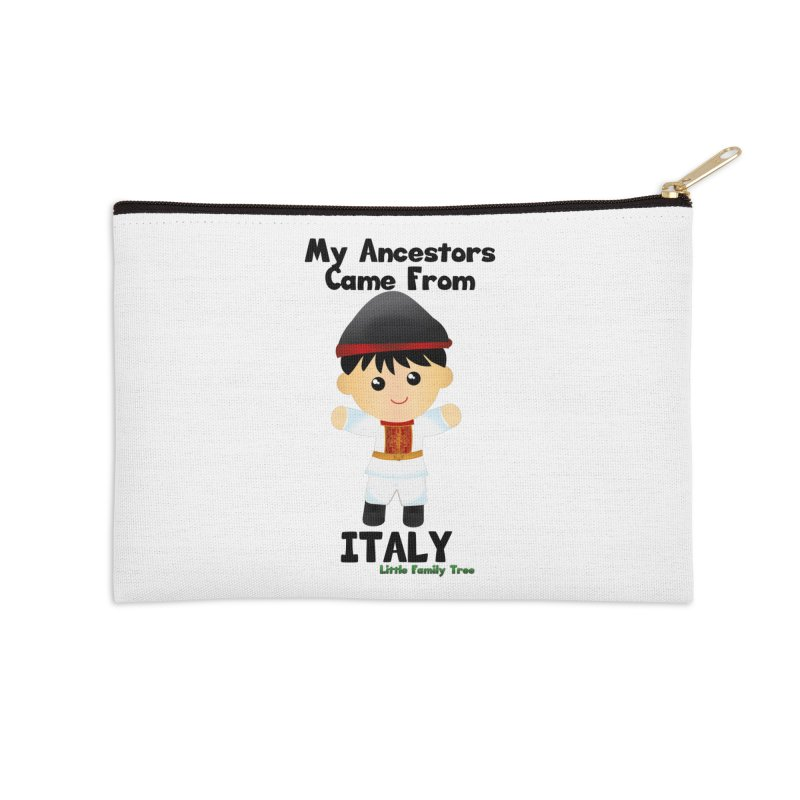 Italy Ancestors Boy Accessories Zip Pouch by Yellow Fork Tech's Shop