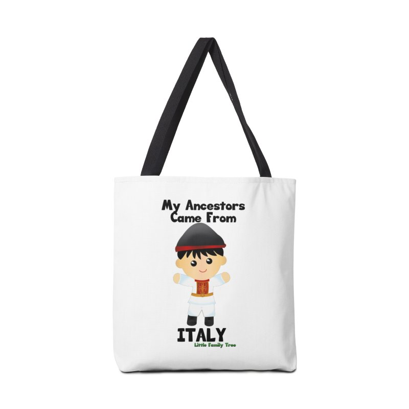 Italy Ancestors Boy Accessories Bag by Yellow Fork Tech's Shop