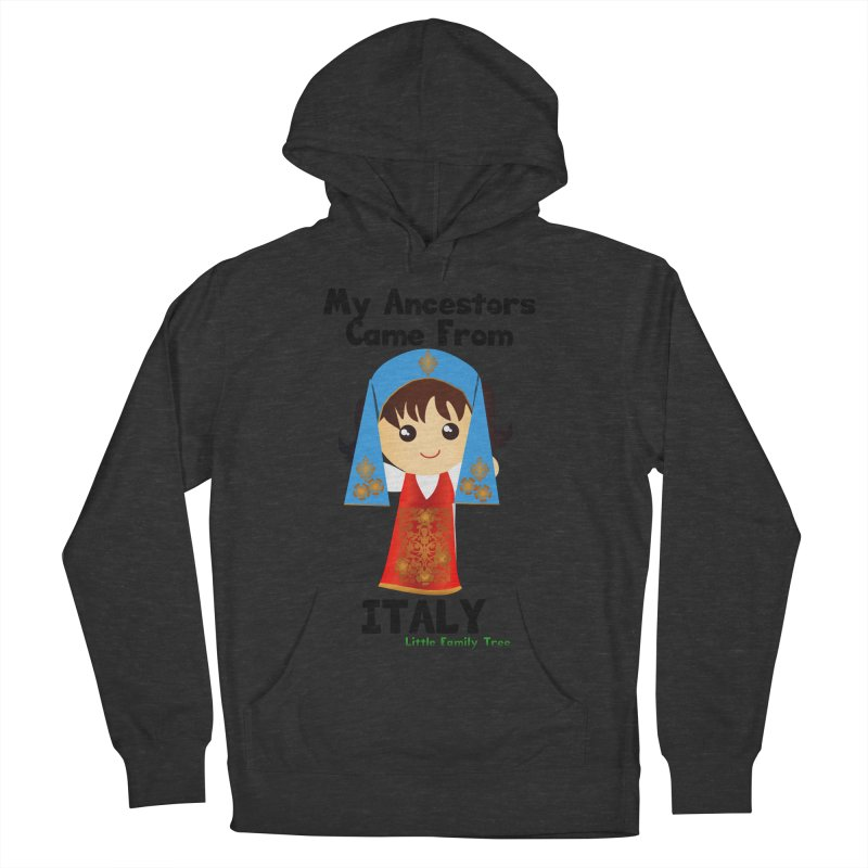 Italy Ancestors Girl Women's Pullover Hoody by Yellow Fork Tech's Shop