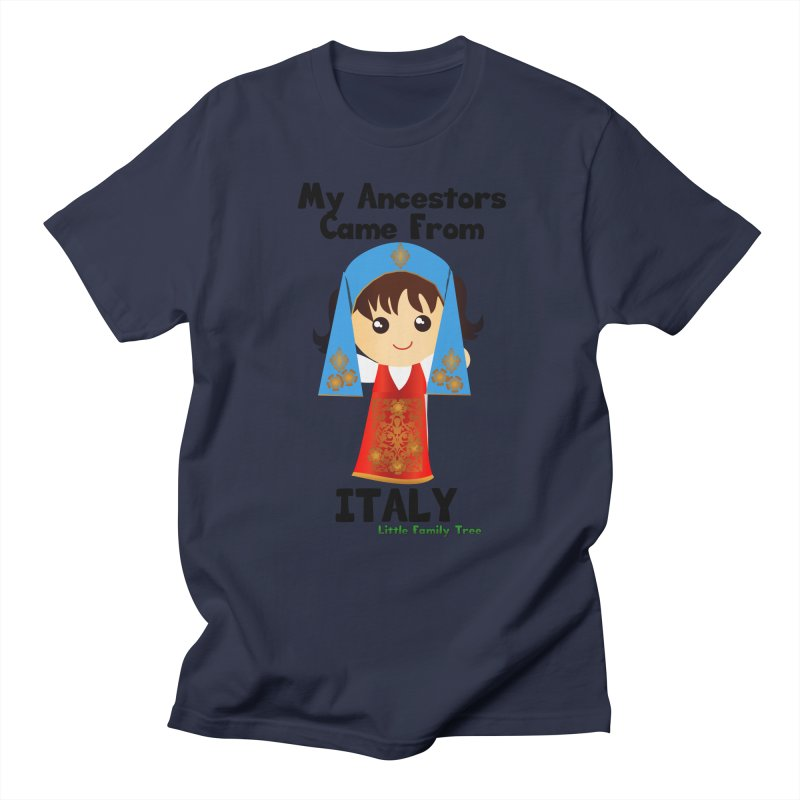 Italy Ancestors Girl Women's Unisex T-Shirt by Yellow Fork Tech's Shop