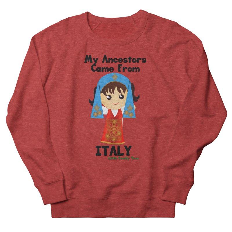 Italy Ancestors Girl Women's Sweatshirt by Yellow Fork Tech's Shop