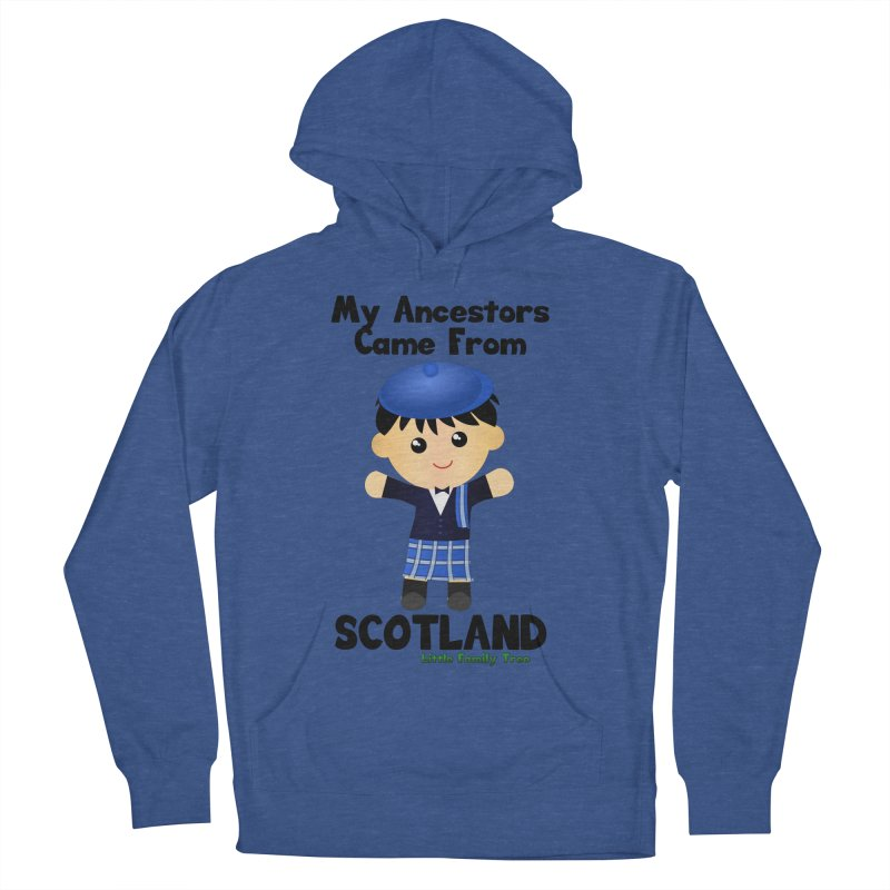 Scotland Ancestors Boy Men's Pullover Hoody by Yellow Fork Tech's Shop