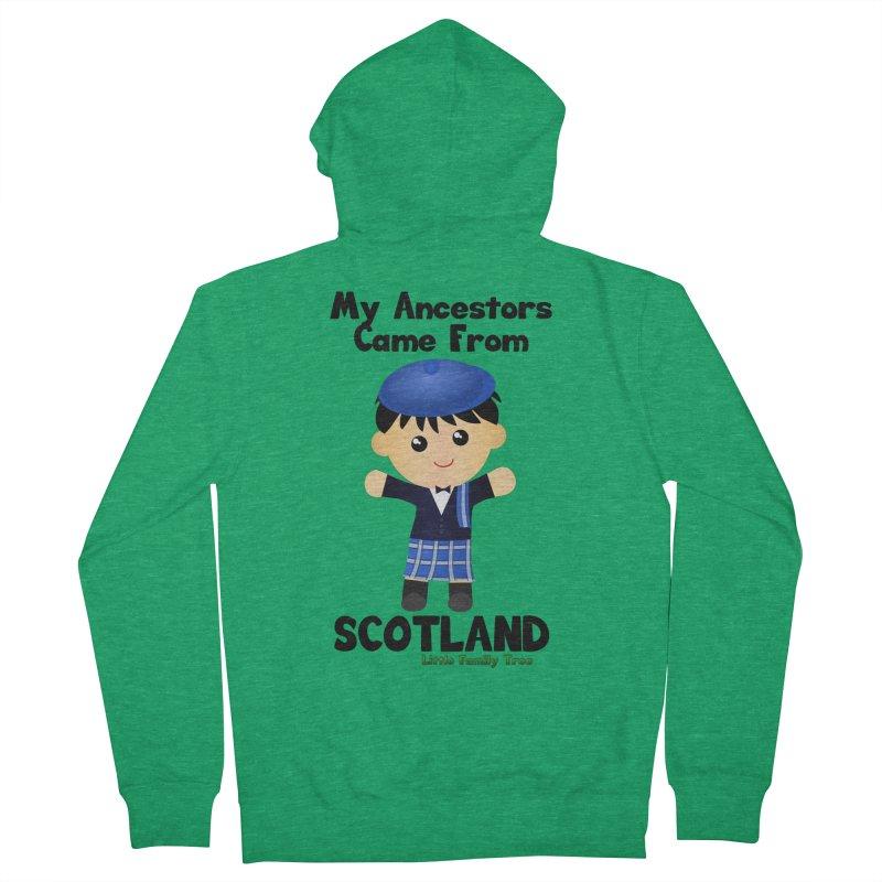 Scotland Ancestors Boy Men's Zip-Up Hoody by Yellow Fork Tech's Shop