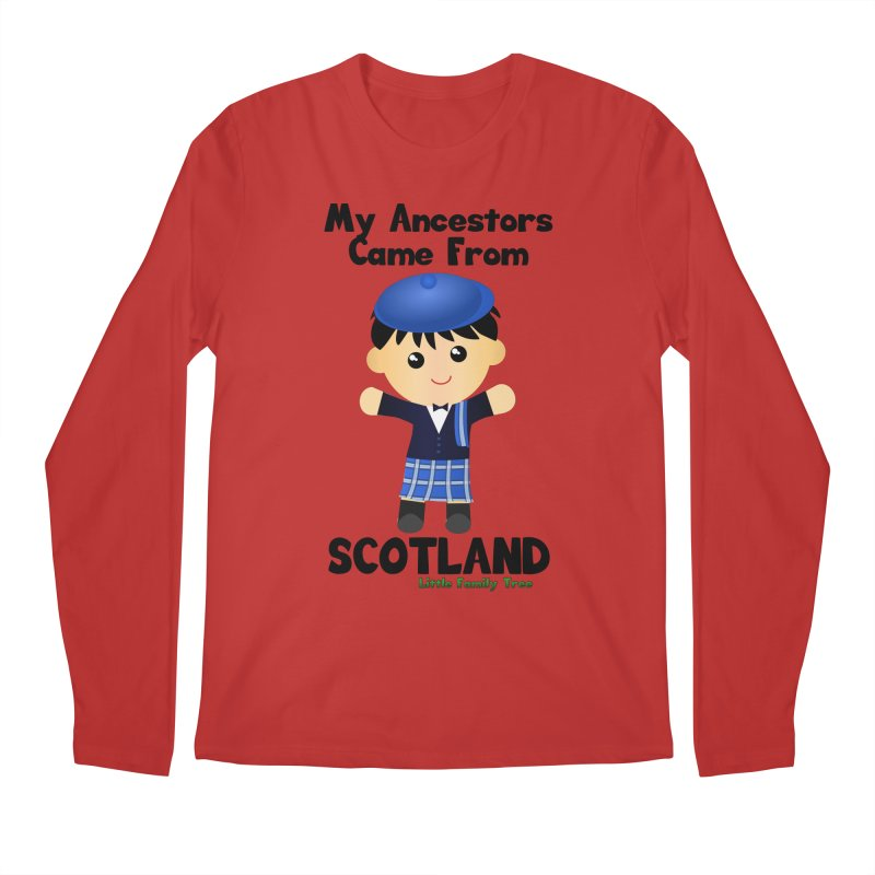 Scotland Ancestors Boy Men's Longsleeve T-Shirt by Yellow Fork Tech's Shop