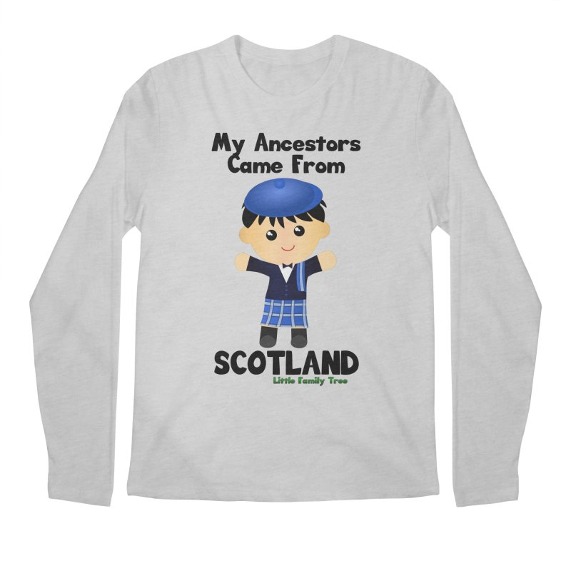 Scotland Ancestors Boy Men's Longsleeve T-Shirt by Yellow Fork Tech's Shop