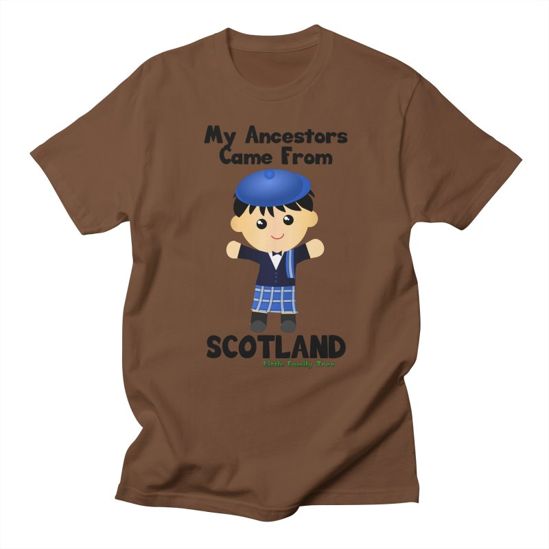 Scotland Ancestors Boy Men's T-Shirt by Yellow Fork Tech's Shop