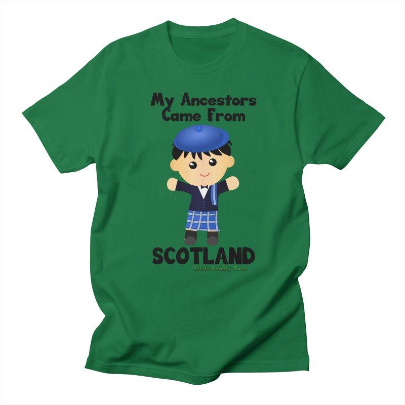 Scotland Ancestors Boy Men's T-Shirt by Yellow Fork Tech's Shop