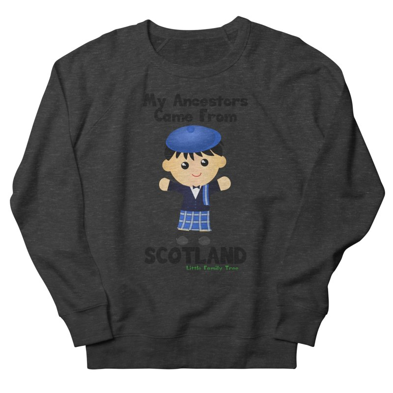 Scotland Ancestors Boy Men's Sweatshirt by Yellow Fork Tech's Shop