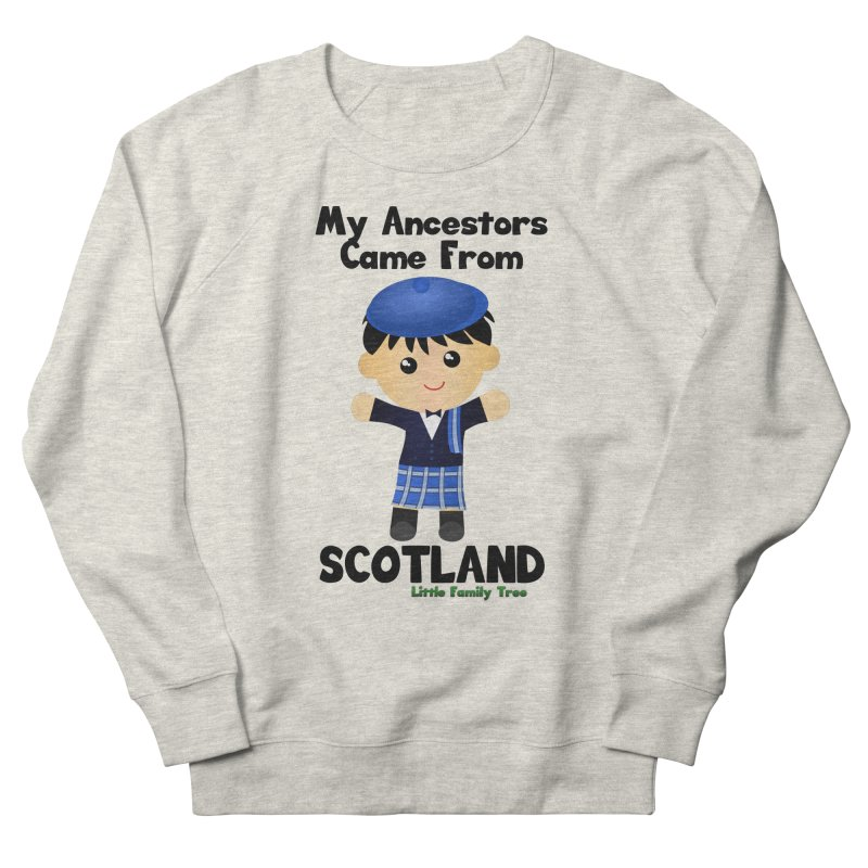Scotland Ancestors Boy Men's Sweatshirt by Yellow Fork Tech's Shop