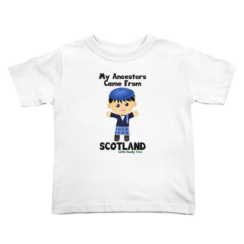 Scotland Ancestors Boy Kids Toddler T-Shirt by Yellow Fork Tech's Shop