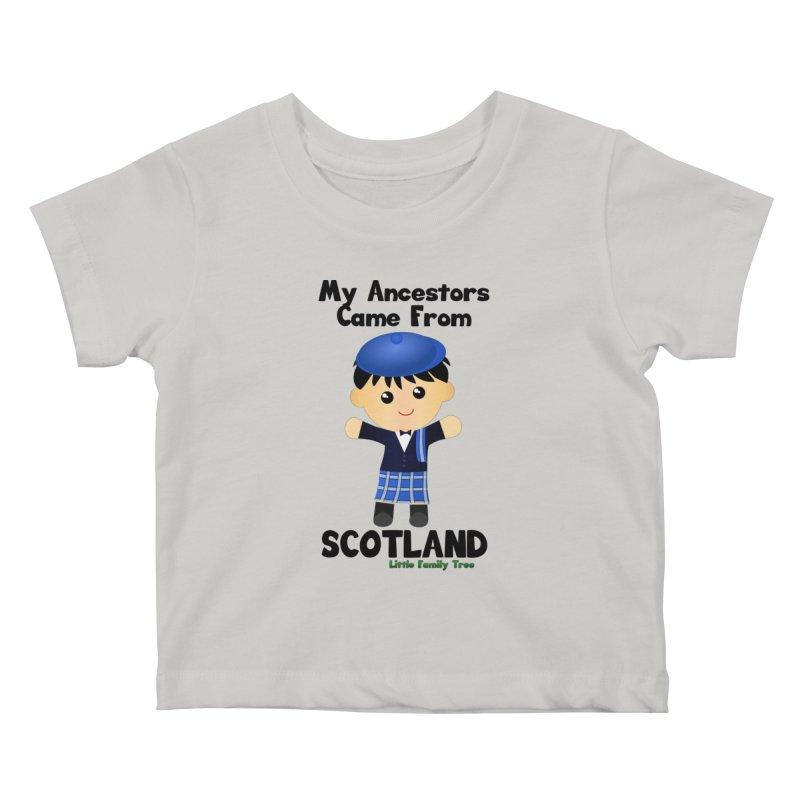 Scotland Ancestors Boy Kids Baby T-Shirt by Yellow Fork Tech's Shop