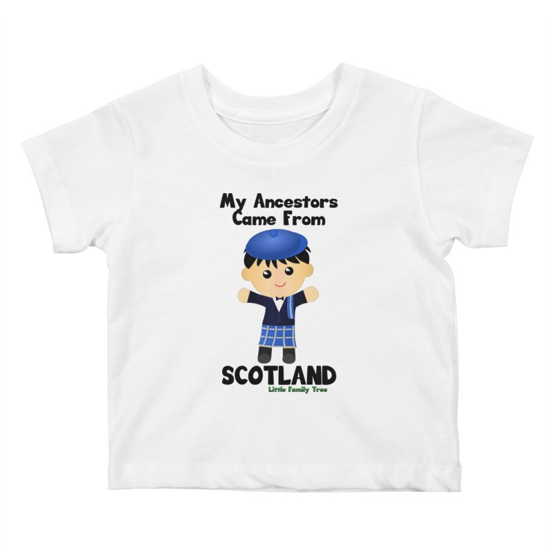 Scotland Ancestors Boy Kids Baby T-Shirt by Yellow Fork Tech's Shop