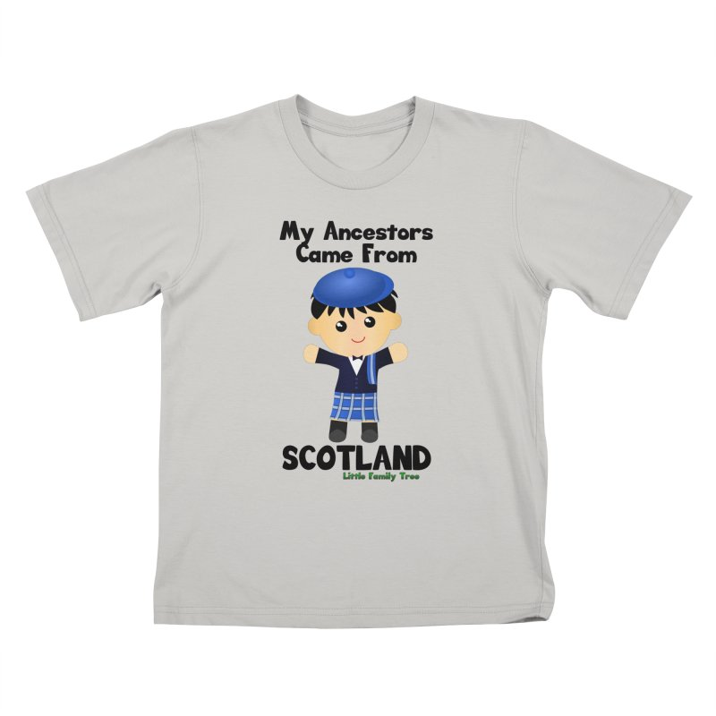 Scotland Ancestors Boy Kids T-shirt by Yellow Fork Tech's Shop