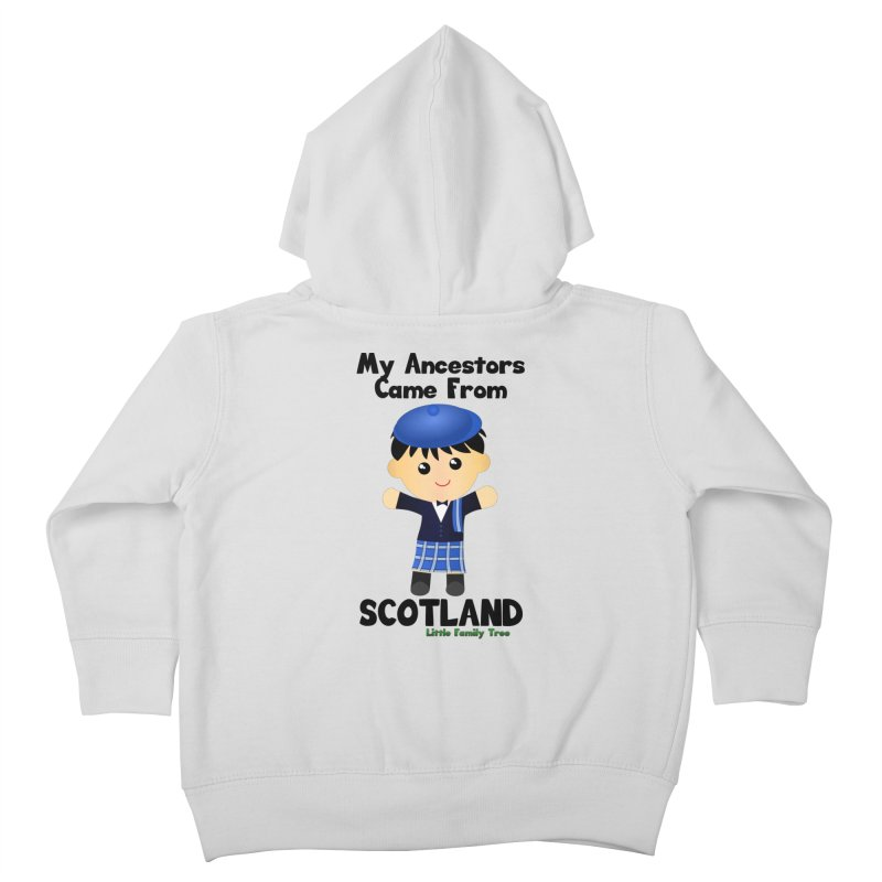Scotland Ancestors Boy Kids Toddler Zip-Up Hoody by Yellow Fork Tech's Shop