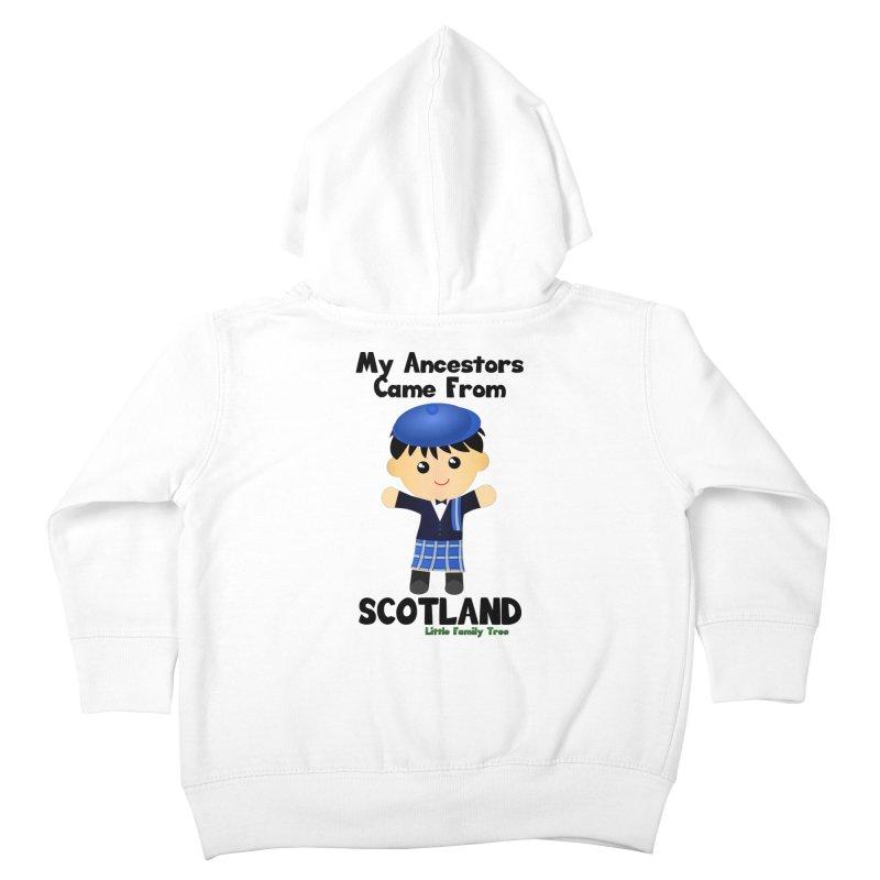 Scotland Ancestors Boy Kids Toddler Zip-Up Hoody by Yellow Fork Tech's Shop