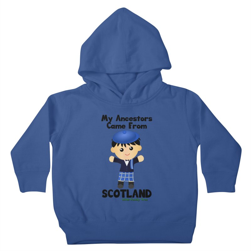 Scotland Ancestors Boy Kids Toddler Pullover Hoody by Yellow Fork Tech's Shop