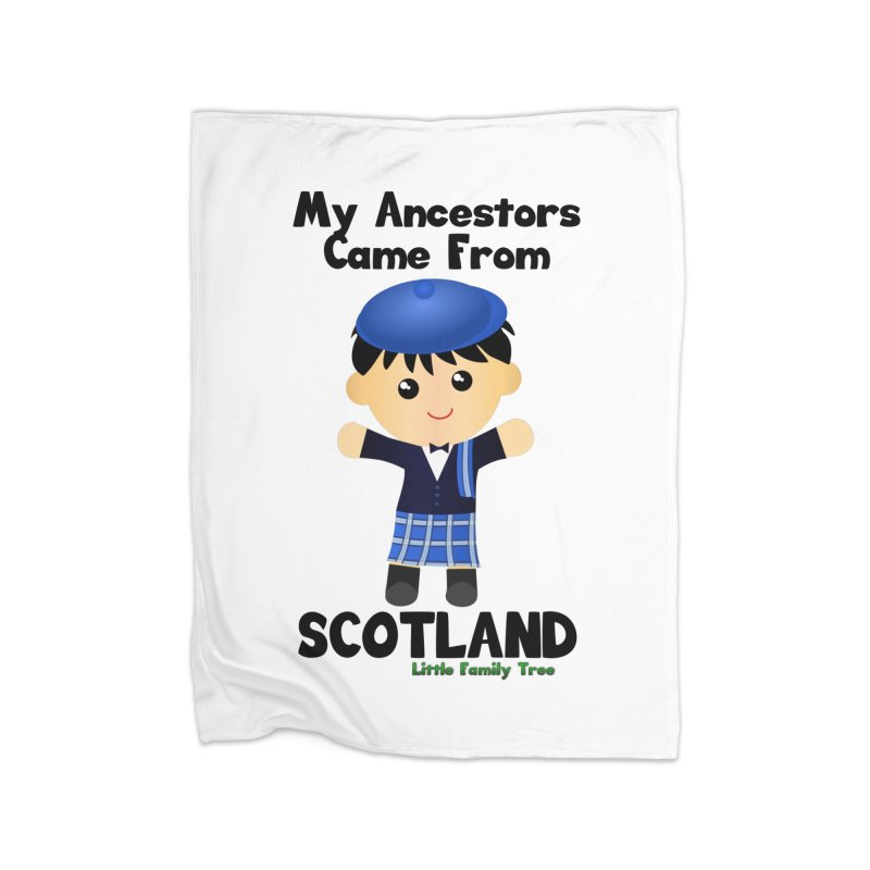 Scotland Ancestors Boy Home Blanket by Yellow Fork Tech's Shop