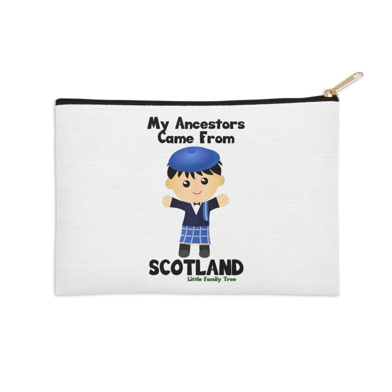 Scotland Ancestors Boy Accessories Zip Pouch by Yellow Fork Tech's Shop