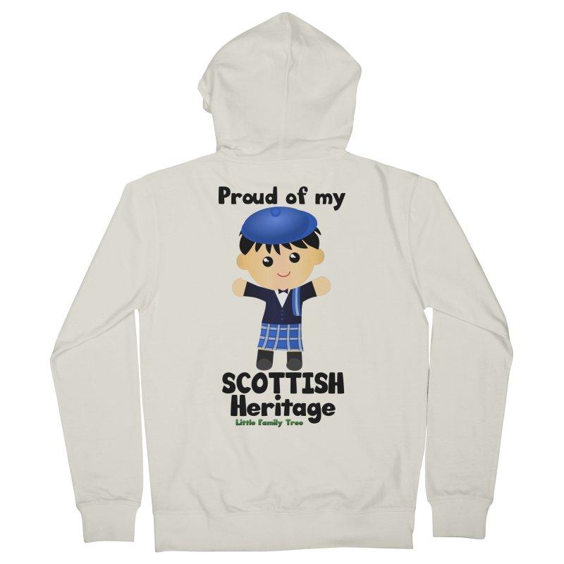Scottish Heritage Boy Men's Zip-Up Hoody by Yellow Fork Tech's Shop