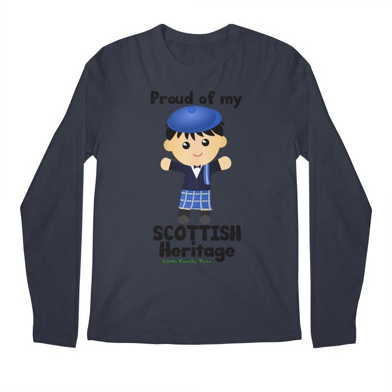 Scottish Heritage Boy Men's Longsleeve T-Shirt by Yellow Fork Tech's Shop