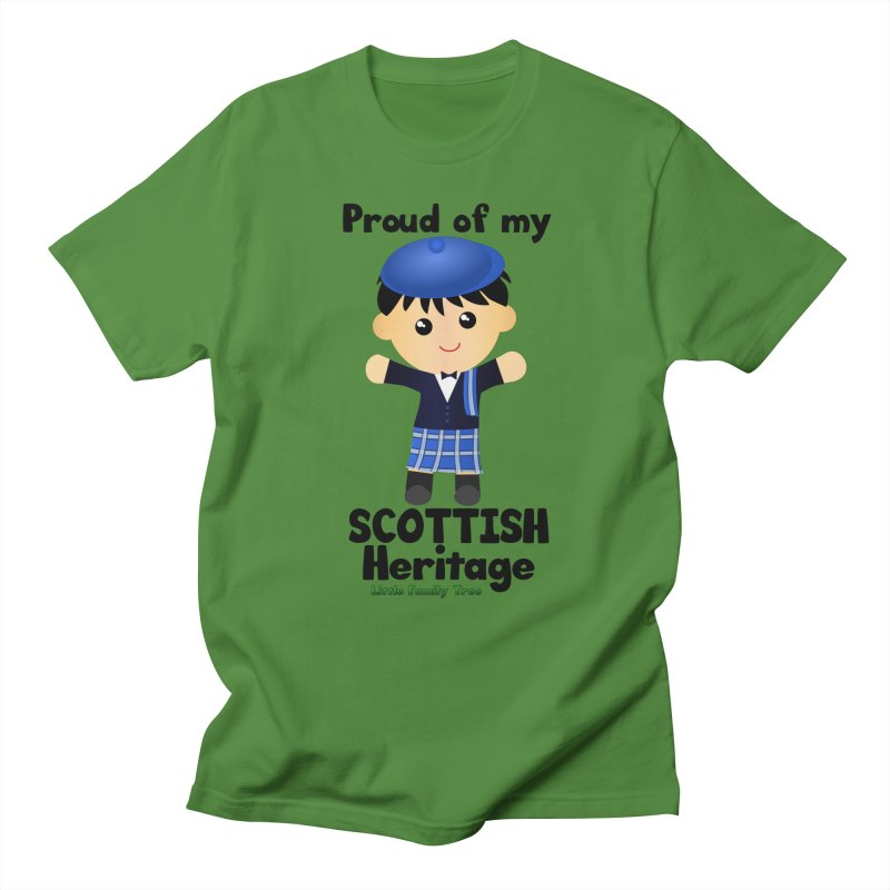 Scottish Heritage Boy Men's T-Shirt by Yellow Fork Tech's Shop
