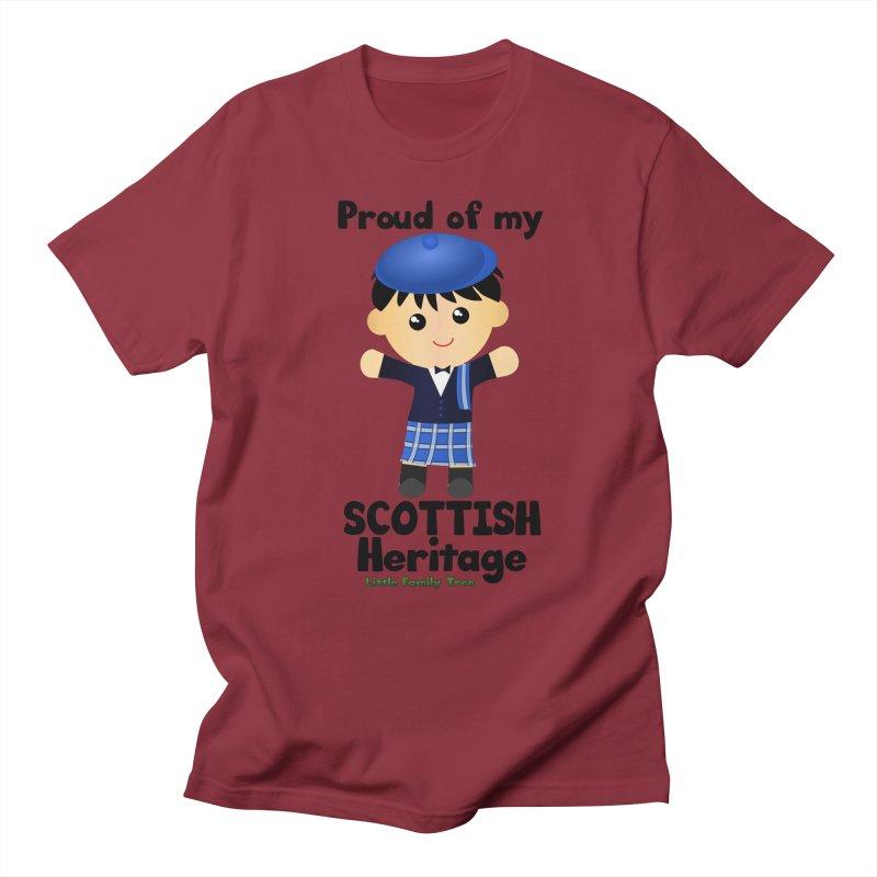 Scottish Heritage Boy Men's T-Shirt by Yellow Fork Tech's Shop