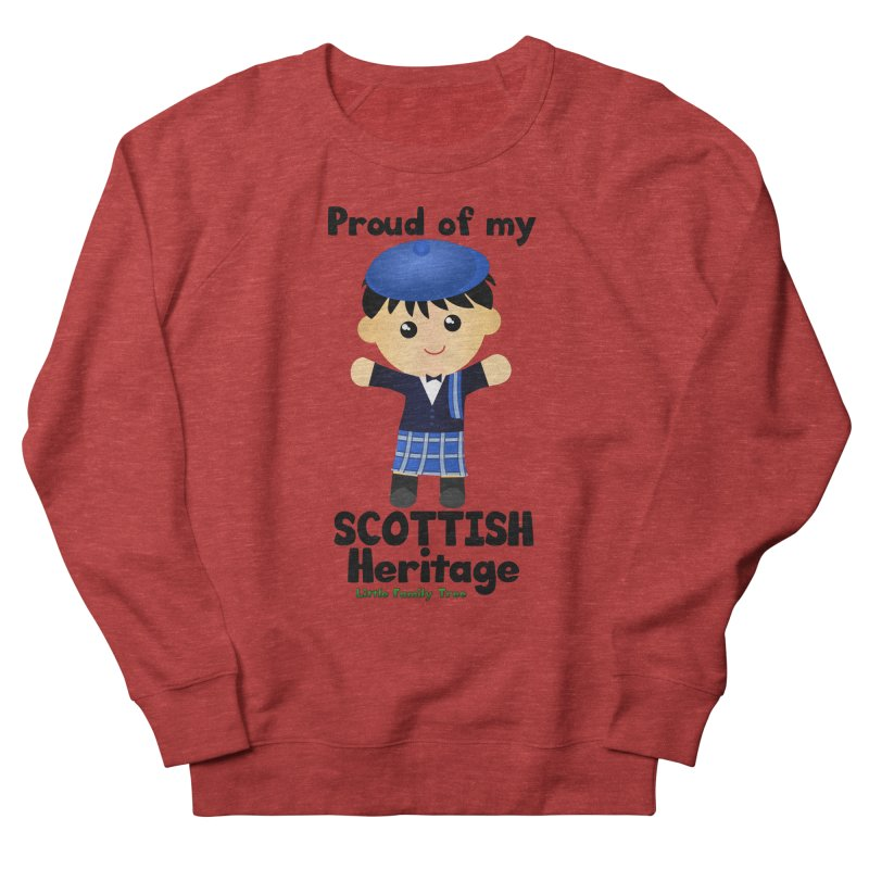 Scottish Heritage Boy Men's Sweatshirt by Yellow Fork Tech's Shop