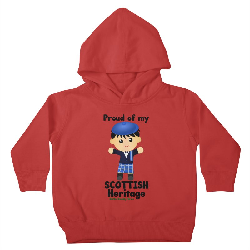 Scottish Heritage Boy Kids Toddler Pullover Hoody by Yellow Fork Tech's Shop