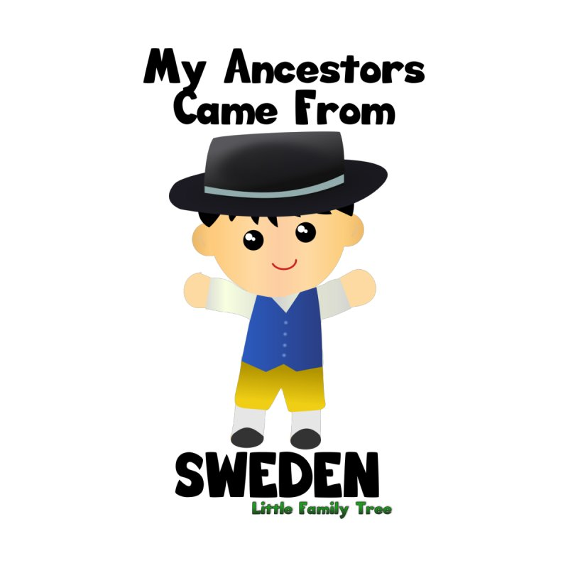 Sweden Ancestors Boy Men's V-Neck by Yellow Fork Tech's Shop