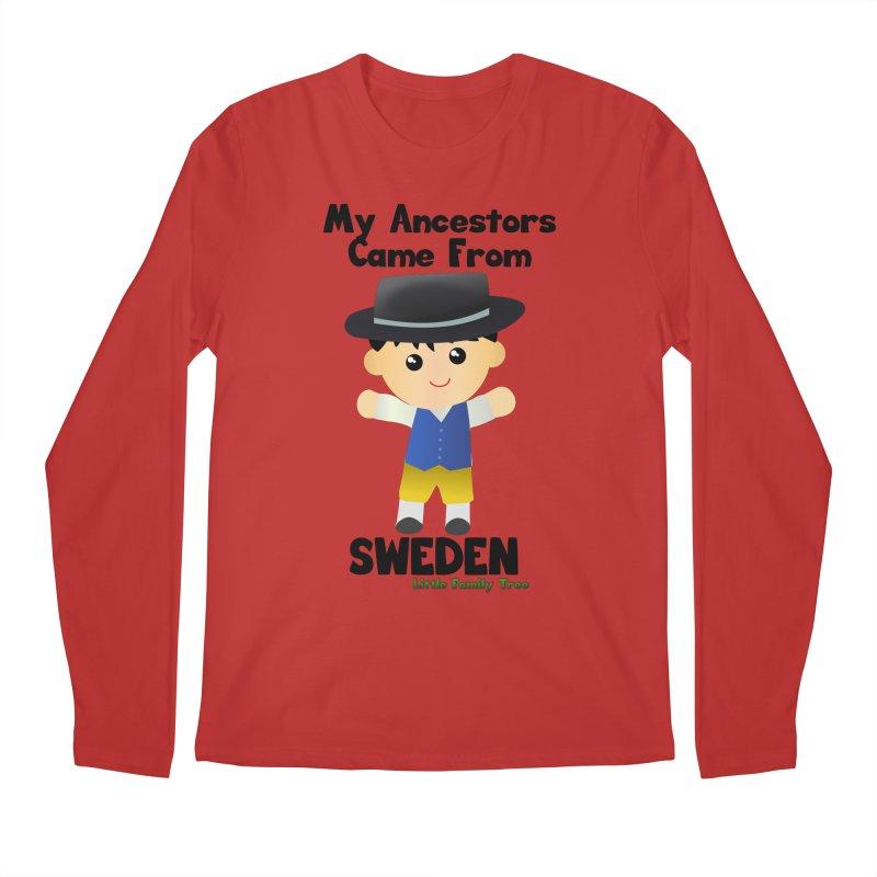 Sweden Ancestors Boy Men's Longsleeve T-Shirt by Yellow Fork Tech's Shop