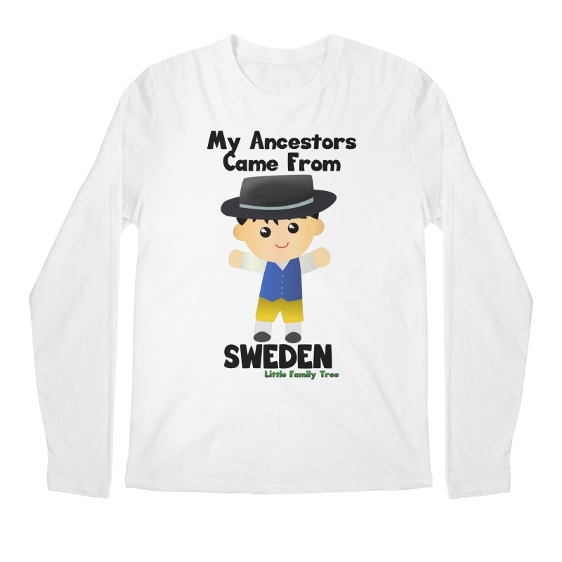 Sweden Ancestors Boy Men's Longsleeve T-Shirt by Yellow Fork Tech's Shop