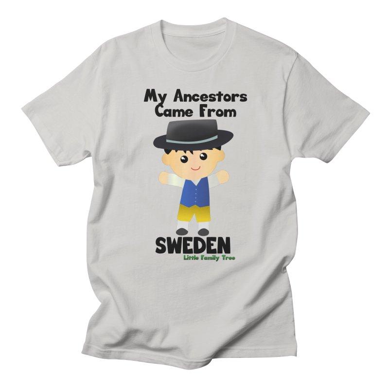 Sweden Ancestors Boy Men's T-Shirt by Yellow Fork Tech's Shop