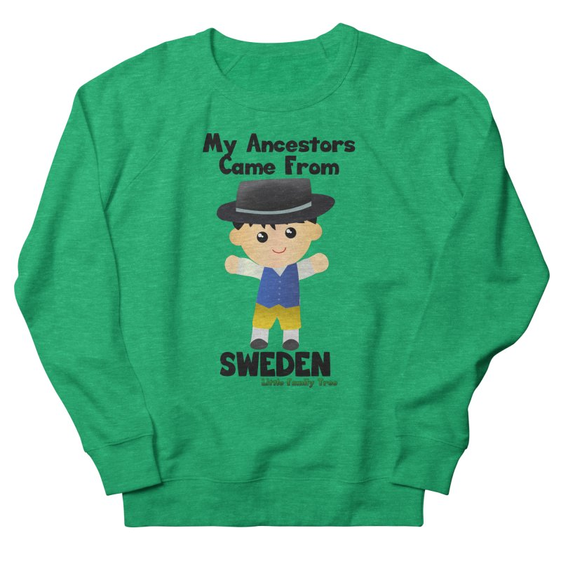 Sweden Ancestors Boy Men's Sweatshirt by Yellow Fork Tech's Shop