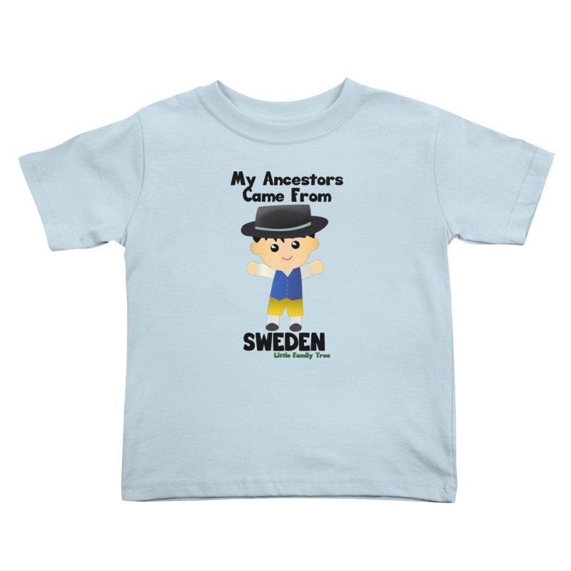 Sweden Ancestors Boy Kids Toddler T-Shirt by Yellow Fork Tech's Shop