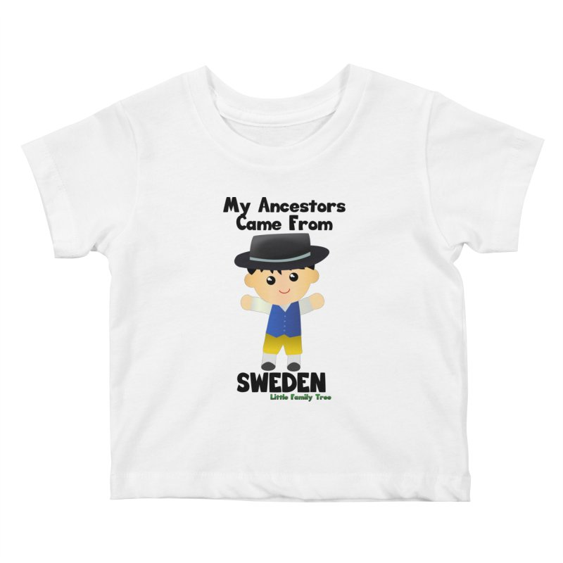Sweden Ancestors Boy Kids Baby T-Shirt by Yellow Fork Tech's Shop