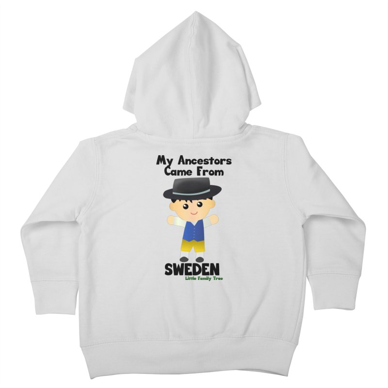 Sweden Ancestors Boy Kids Toddler Zip-Up Hoody by Yellow Fork Tech's Shop