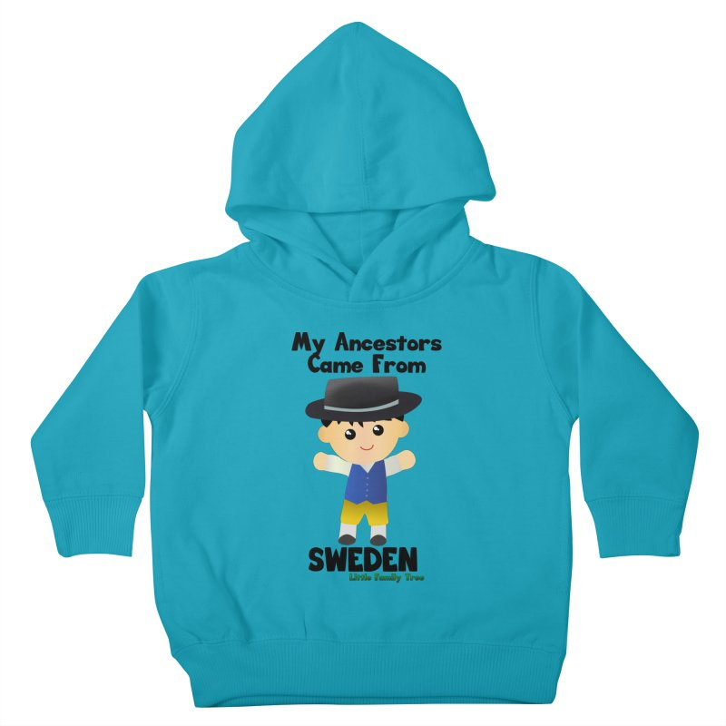 Sweden Ancestors Boy Kids Toddler Pullover Hoody by Yellow Fork Tech's Shop