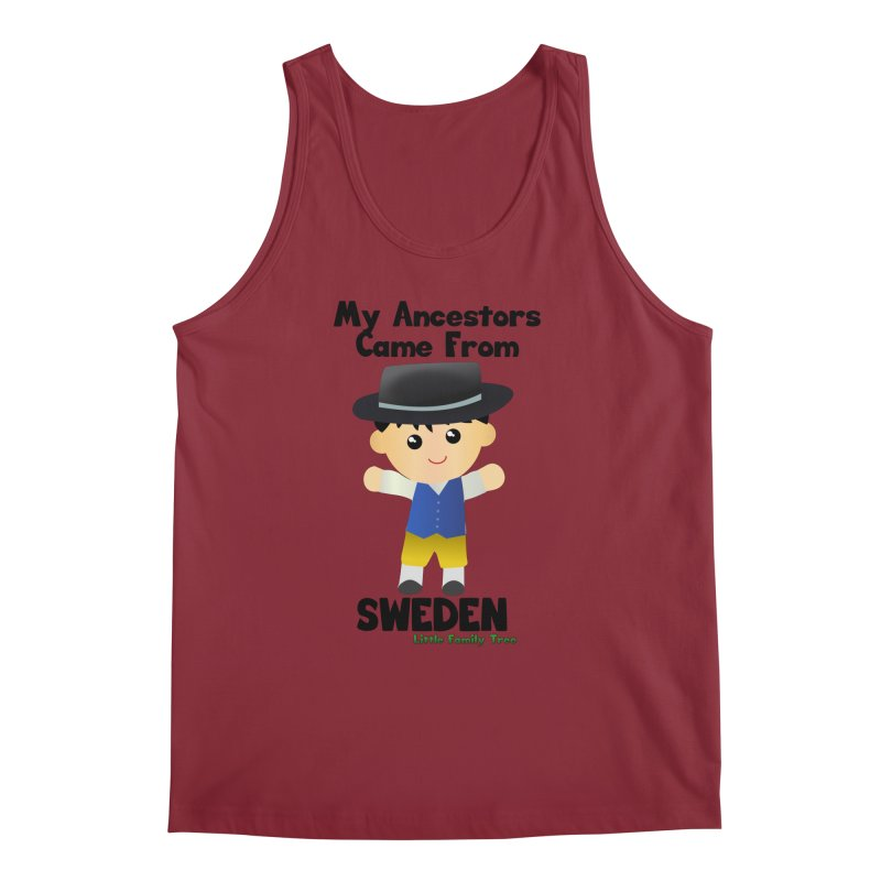 Sweden Ancestors Boy Men's Tank by Yellow Fork Tech's Shop