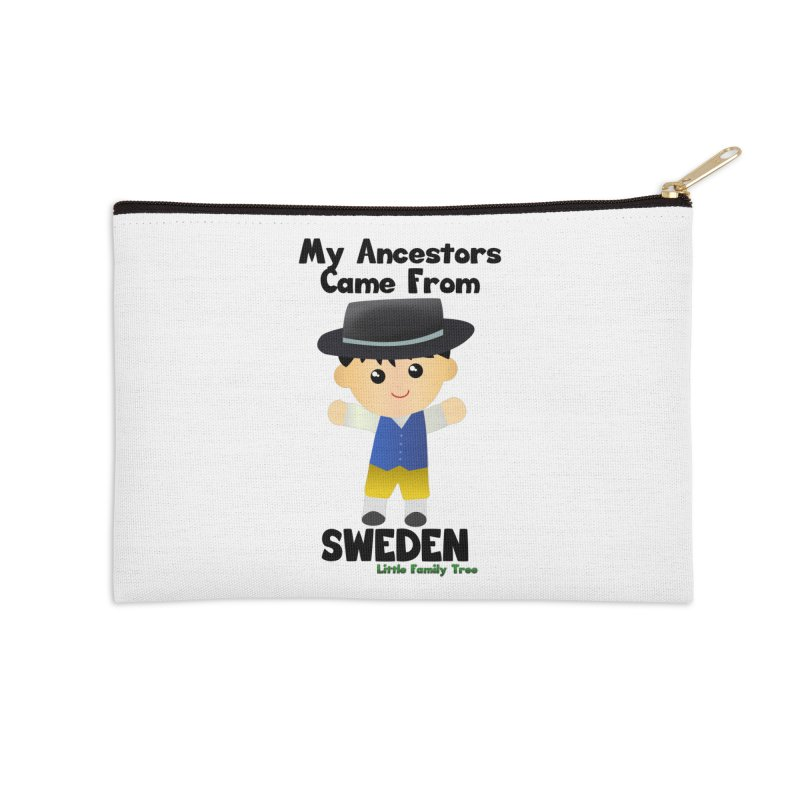 Sweden Ancestors Boy Accessories Zip Pouch by Yellow Fork Tech's Shop