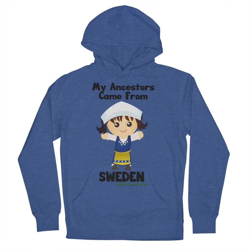 Sweden Ancestors Girl Women's Pullover Hoody by Yellow Fork Tech's Shop