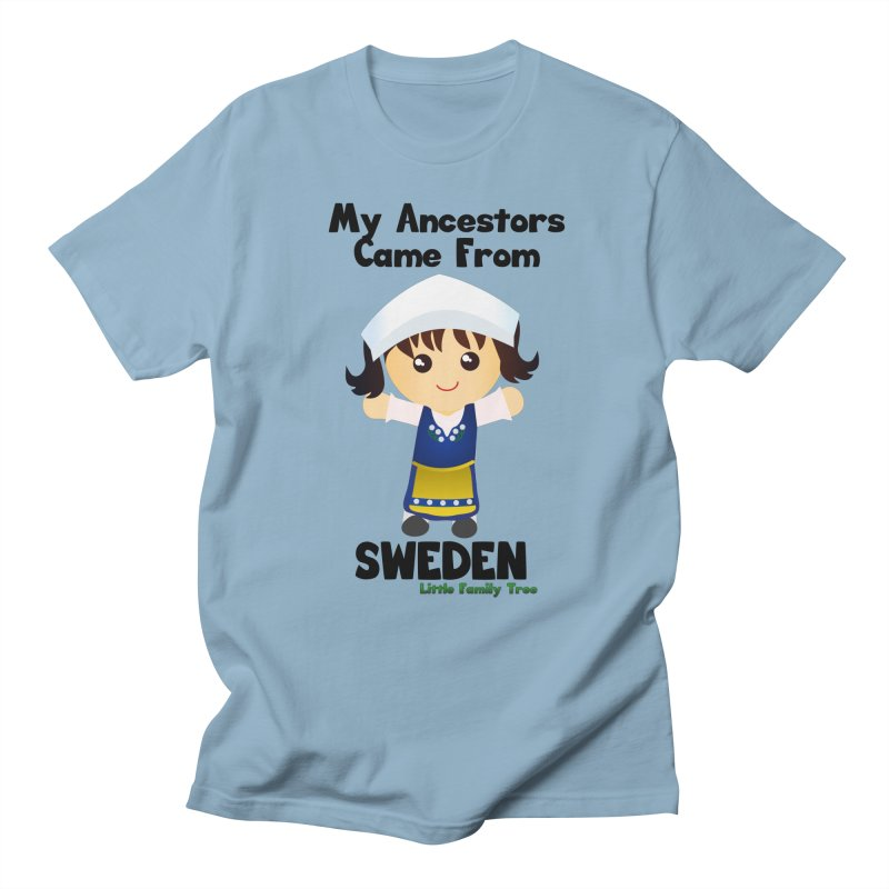 Sweden Ancestors Girl Women's Unisex T-Shirt by Yellow Fork Tech's Shop