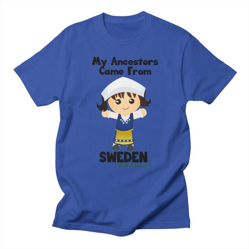 Sweden Ancestors Girl Women's Unisex T-Shirt by Yellow Fork Tech's Shop